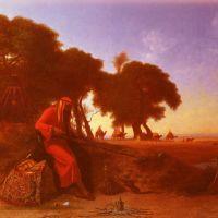 Frere An Arab Encampment