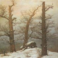 Friedrich Caspar David Hunngrats In Schnee