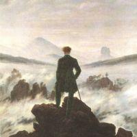 Friedrich Caspar David Wanderer Watching A Sea Of Fog