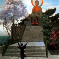 Gerome A Japanese Imploring A Divinity