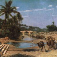 Gerome An Arab Caravan