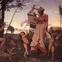 Gerome Anachreon Bacchus Et Amour