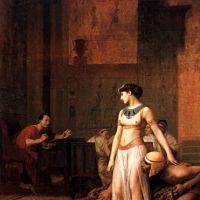 Gerome Cleopatra Before Caesar