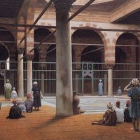 Gerome Interior Of A Mosque 1870