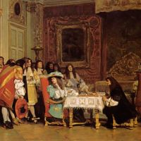Gerome Louis Xiv And Moliere