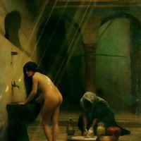 Gerome Moorish Bath