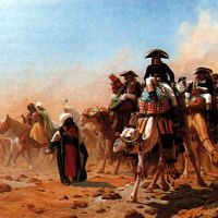 Gerome Napolean And His General Staff In Egypt
