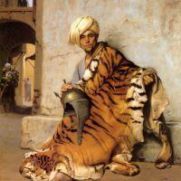 Gerome Pelt Merchant Of Cairo