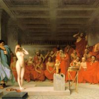 Gerome Phryne Before The Areopagus