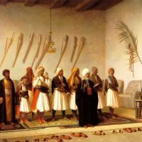 Gerome Prayer In The House Of An Arnaut Chief