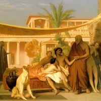 Gerome Socrates Seeking Alcibiades In The House Of Aspasia