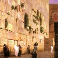 Gerome Solomons Wall Jerusalem