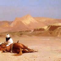 Gerome The Arab And His Steed