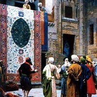 Gerome The Carpet Merchant