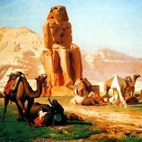 Gerome The Colossus Of Memnon