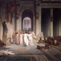 Gerome The Death Of Caesar