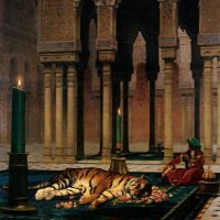 Gerome The Grief Of The Pasha