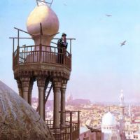 Gerome The Muezzins Call To Prayer