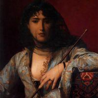 Gerome Veiled Circassian Lady