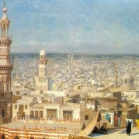 Gerome View Of Cairo