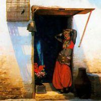 Gerome Woman Of Cairo At Her Door