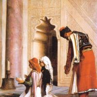 Gerome Young Greeks At The Mosque