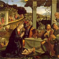 Ghirlandaio Domenico Adoration Of The Sheperds