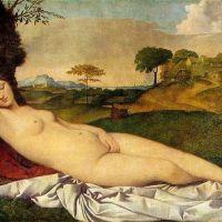 Giorgione Venus Asleep