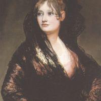 Goya Francisco De Portrait Of Dona Isabel De Porcel