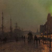 Grimshaw Gourock Near The Clyde Shipping Docks