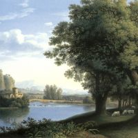 Hackert Jakob Philipp River Landscape
