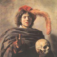 Hals Frans Young Man With A Skull Vanitas