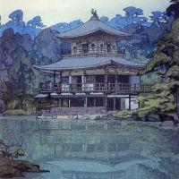 Hiroshi Yoshida Temple Of The Golden Pavilion