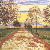 Hodler Ferdinand Autumn Evening