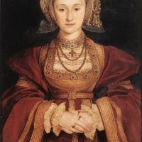 Holbien The Younger Portrait Of Anne Of Cleves