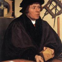 Holbien The Younger Portrait Of Nikolaus Kratzer