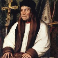 Holbien The Younger Portrait Of William Warham Archbishop Of Canterbury