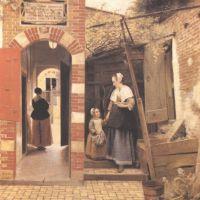 Hooch Pieter De The Courtyard Of A House In Delft