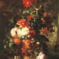Huysum Jan Van Flowers