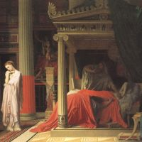 Ingres Antiochus And Stratonice