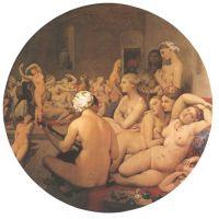 Ingres Jad The Turkish Bath