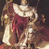 Ingres Napoleon I On His Imperial Throne