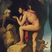 Ingres Oedipus And The Sphinx