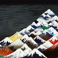 Ishikawa Masumi Thirty Six Views Of Mt. Fuji