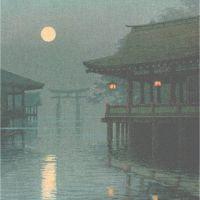 Ito Yuhan Itsukushima Shrine At Miyajima 1930-s