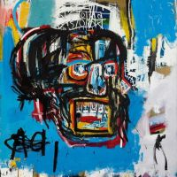 Jm Basquiat Untitled 1982 - La Painting- Sales Record