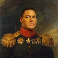 John Cena George Dawe Style