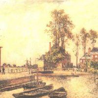 Jongkind Johann Barthold Canal Embankment