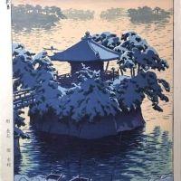 Kasamatsu Shiro Snow At Matsushima