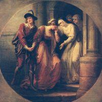 Kauffmann Angelica Painting Of Abelard And Eloisa